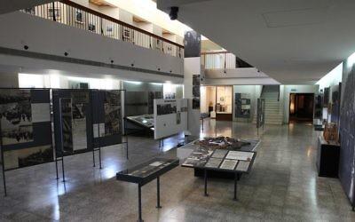 La Maison des combattants du ghetto, musée du patrimoine de l'Holocauste et de la résistance juive,    en mai 2011. (Crédit : Yaakov Naumi/Flash90)