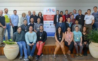 Participants au Weekathon IAITI (Crédit : Nir Shmuel)