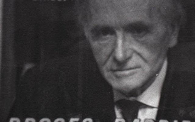 Le procès Klaus Barbie retransmis à la télévision (Crédit: capture d'écran/Mémorial de la Shoah)