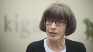Sara J. Bloomfield, directrice du musée mémorial américain de l'Holocauste de Washington. (Crédit : capture d'écran YouTube)