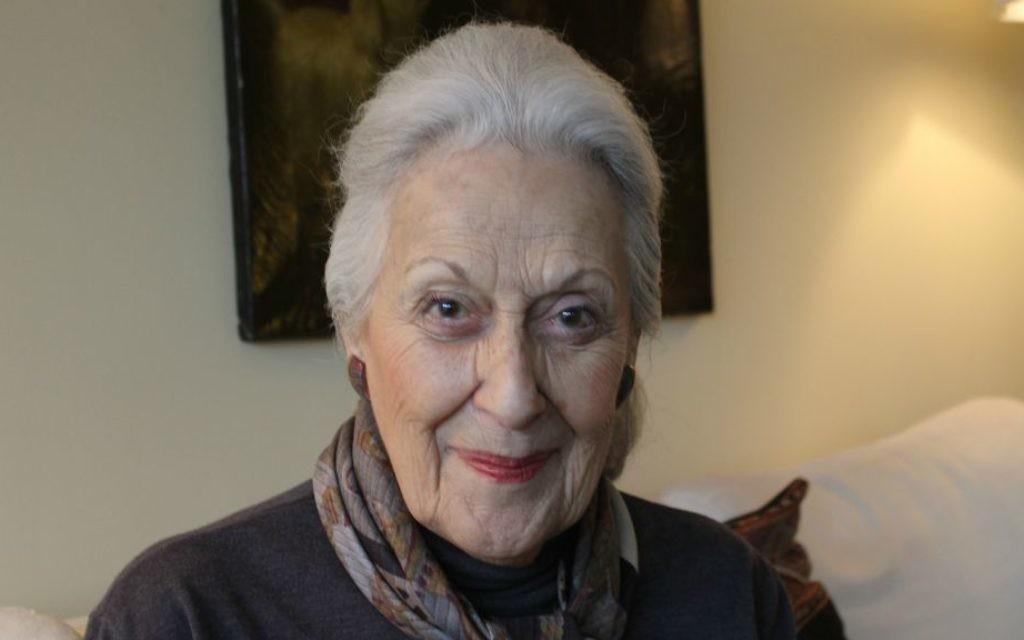 Janice Rothschild Blumberg raconte le jour où sa synagogue d'Atlantat a été attaquée en 1958 par des suprématistes blancs, et voit que la même haine est toujours là. (Crédit : Bill Rothschild)