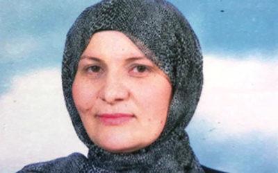 Hana Khatib, première femme à devenir juge dans un tribunal musulman, le 25 avril 2017. (Crédit : Ministère de la Justice)