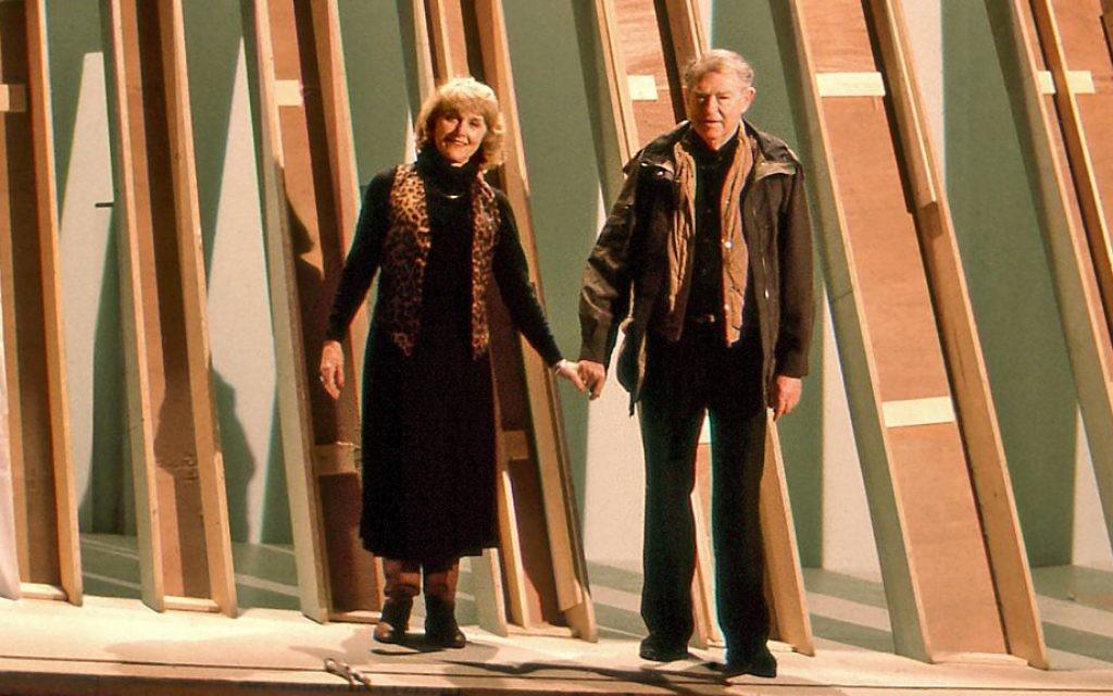 Lillian et Harold Michelson (Crédit : Zeitgeist Films)