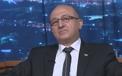 Le général syrien déserteur Zaher al-Sakat (Capture d'écran : YouTube)