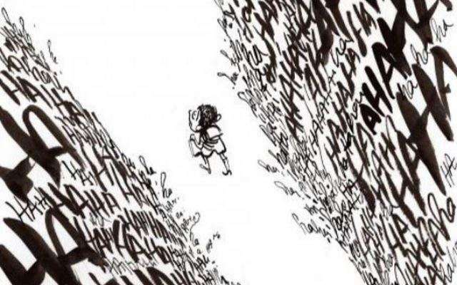 Dessin de Luz illustrant le livre d'Albert Cohen 'Ô vous , frères humains' et l'exposition qui lui est consacré au Majh (Crédit: capture d'écran Majh/Luz)
