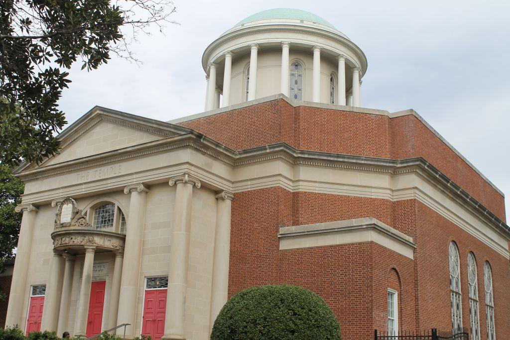 La synagogue d'Atlanta,un centre de militantisme social. (Crédit : Ben Sales/JTA)