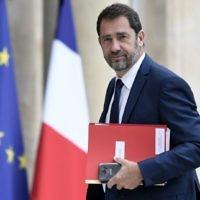 Christophe Castaner, le 24 mai 2017. (Crédit : Stéphane de Sakutin/AFP)