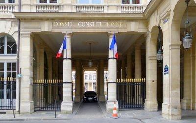 Le Conseil constitutionnel français, dans le centre de Paris. Illustration. (Crédit : Mbzt/CC BY 3.0/WikiCommons)