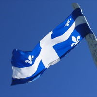 Drapeau du Québec. (Crédit : AzertyFab/CC BY SA 3.0)