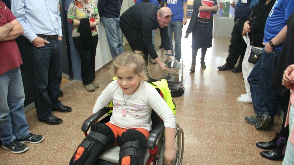L'hôpital d'ALYN à Jérusalem développe des technologies pour aider les enfants à dépasser les limitations physiques (Autorisation)
