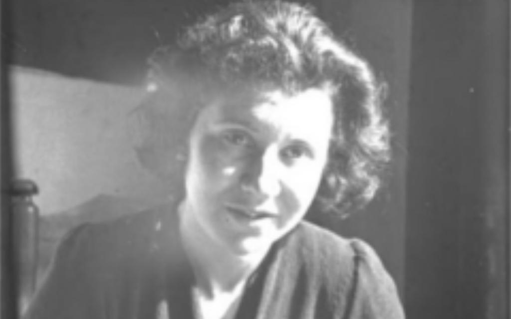 Etty Hillesum (Crédit : Wikipedia)