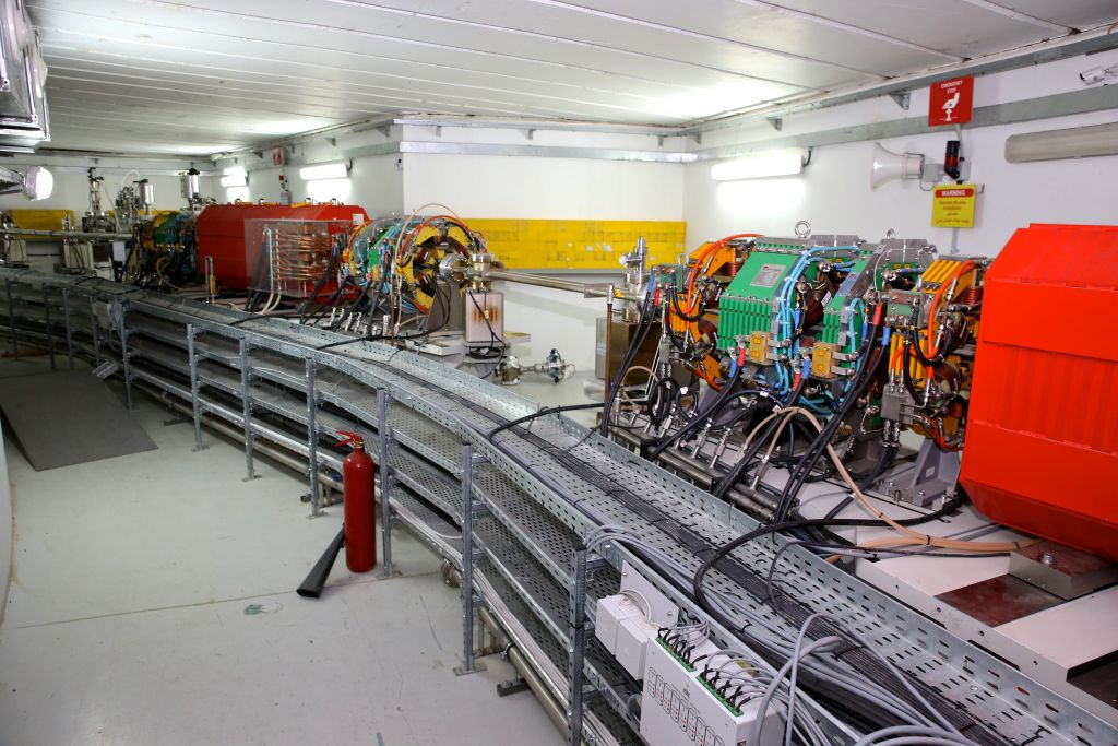 L'accélérateur de particules SESAME à Allan, en Jordanie. (Crédit : Sharing Knowledge Foundation)