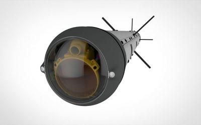 Le devant du missile développé par l'entreprise  Rafael, le SPIKE LR II (Autorisation)