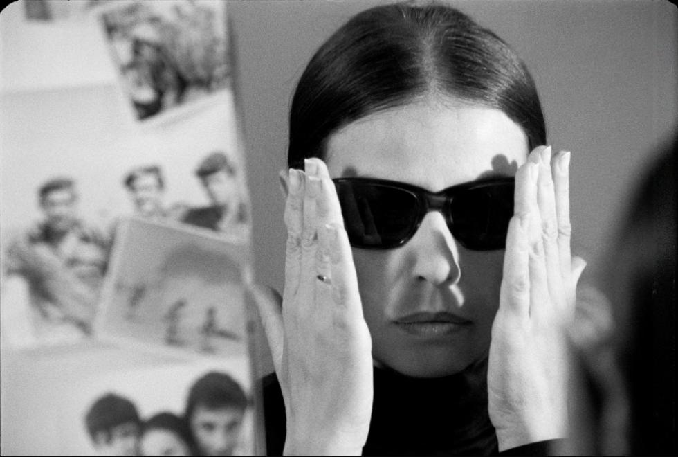 Gila Almagorin dans 'Matzor'. (Autorisation : Cinémathèque de Jérusalem)