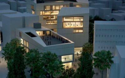 Le futur Campus des Arts de Jérusalem, qui ouvrira en 2020. (Crédit : UJA-Federation of New York)