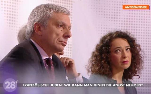 Le politologue Jean-Yves Camus, président de l'Observatoire des radicalités. (Crédit: capture d'écran Youtube/Arte)