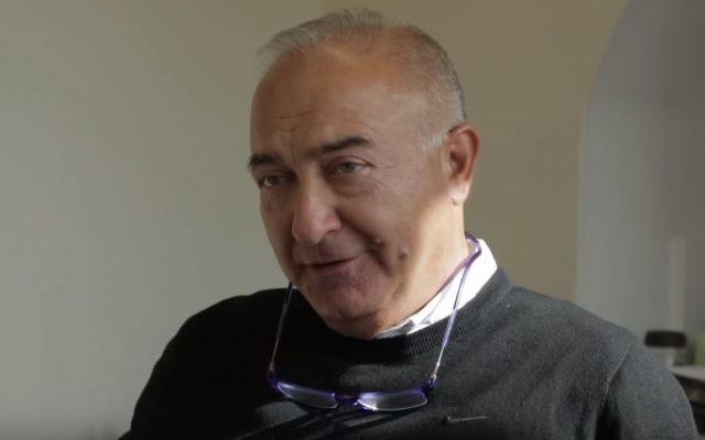 Le président de la communauté juive d'Oslo Ervin Kohn (Capture d'écran : YouTube)