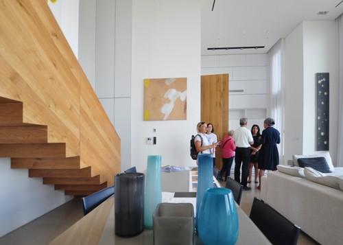 Les visiteurs pourront admirer des maisons privées dans le cadre de l'exposition Open House Tel Aviv 2017. (Crédit : Open House 2017)