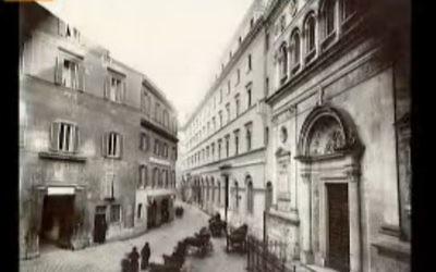 Le séminaire  français de Rome a accueilli de nombreux réfugiés juifs (Crédit: capture d'écran KTO)