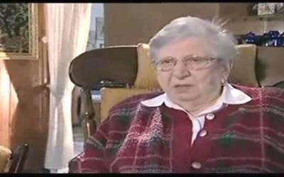 """Shlomit Kishik-Cohen, espionne israélienne surnommée """"la perle du Mossad"""", est décédée le 22 mai 2017, à l'âge de 100 ans. (Crédit : Capture d'écran YouTube)"""