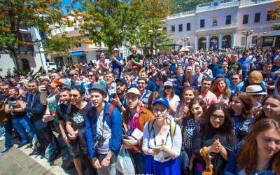 Les participants au programme Eurostars  (Autorisation : Fédération des communautés juives des CIS)