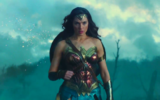 Capture d'écran de Gal Gadot dans  'Wonder Woman', adaptation du DC Comics, qui sortira le 1er juin en Israël  (Autorisation :  'Wonder Woman')