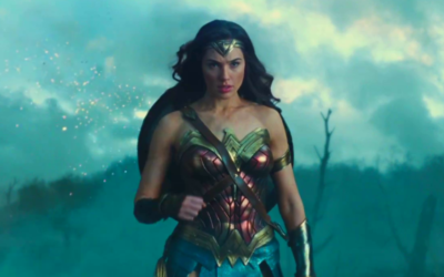 Capture d'écran de Gal Gadot dans  'Wonder Woman', adaptation du DC Comics, qui sortira le 1er juin en Israël  (Autorisation :  'Wonder Woman')
