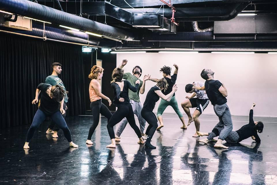 La compagnie de danse Fresco se produira pendant la Nuit Blanche 2017 de Tel Aviv. (Crédit : autorisation d'Anna Lindan)