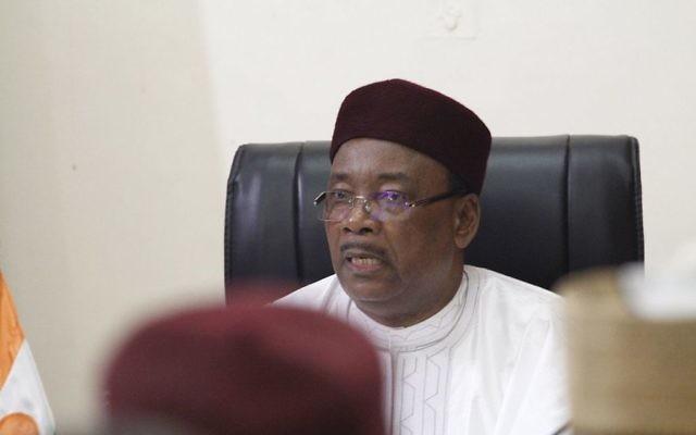 Mahamadou Issoufou, président du Niger, en 2014. (Crédit : Mission britannique aux Nations unies/CC BY 2.0/WikiCommons)