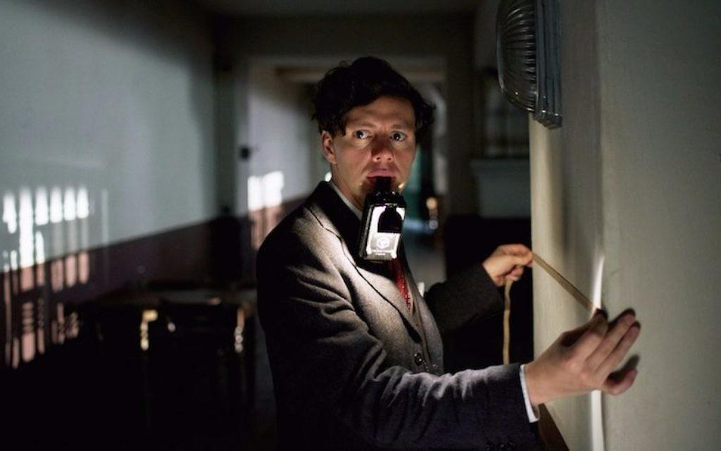 Christian Friedel joue Georg Elser dans '13 Minutes.' (Crédit : Bernd Schuller/Sony Pictures Classics)