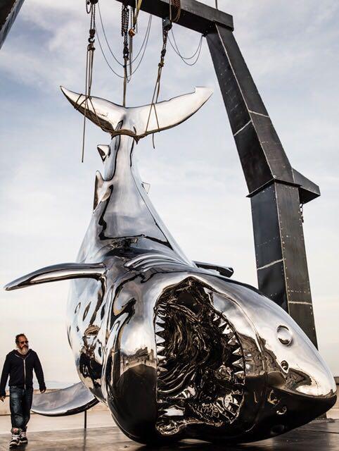 Fabuleux Philippe Pasqua, dont les sculptures ont fait le tour du monde  MG15