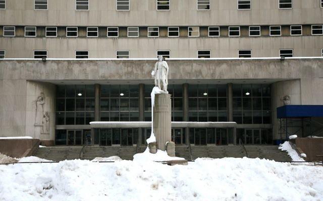 Dans la ville de New York, à Brooklyn, la Cour suprême de l'état de New York - Kings County (Crédit : CC BY Vincent Desjardins, Flickr)