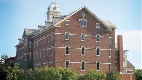 Le campus principal du Burlington College, dans le Vermont. (Crédit : GreenMountain802/CC BY-SA/Wikimedia commons)