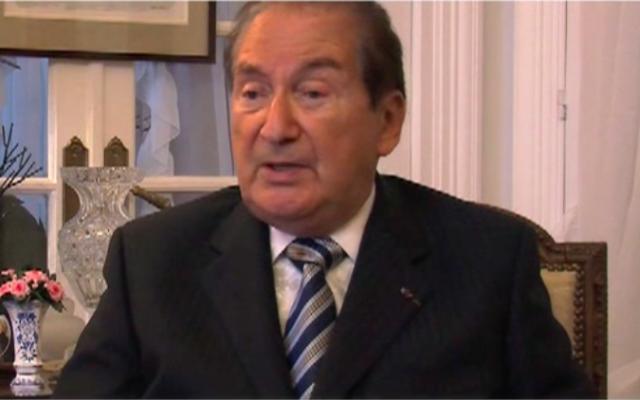 Maurice Obréjan (Crédit : Capture d'écran DailyMotion)