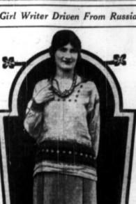 Article sur l'expulsion de Rhea Clyman par les soviétiques. (Crédit : domaine public)