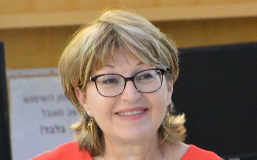 Daphna Poznanski-Benhamou (Crédit : Autorisation)