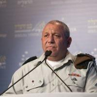 Gadi Eizenkot, chef d'état-major de l'armée israélienne, pendant la conférence de Herzliya, le 20 juin 2017. (Crédit : Hagai Fried/conférence de Herzliya)