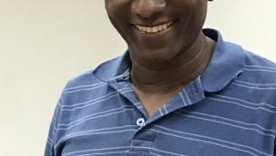 Le directeur-général de Tech-Career Naphtali Avraham (Crédit : Shoshanna Solomon/TimesofIsrael)