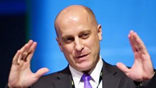 Gidi Grinstein, fondateur et président de l'Institut Reut (Crédit : Autorisation de l'Institut Reut)