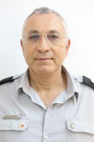 Haim Tamam, chef du département de la Sécurité et des enquêtes au sein du service israélien d'incendies et de secours (Autorisation)