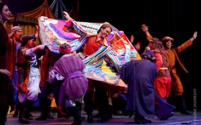 Production à l'université de Tulane  de la comédie musicale 'Joseph and the Amazing Technicolor Dreamcoat'. Illustration. (Crédit : AlbertHerring/CC BY/Wikimedia Commons)