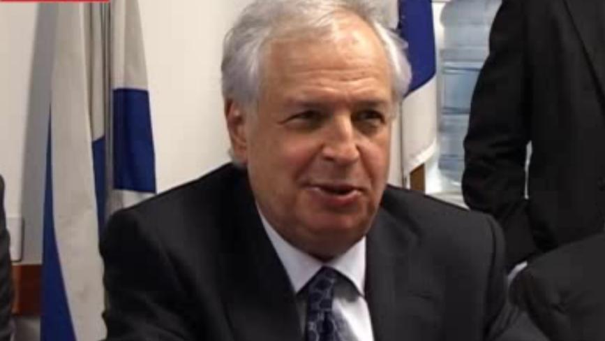 Shaul Elovitz, propriétaire du groupe de communications Bezeq. (Crédit : capture d'écran Calcalist)