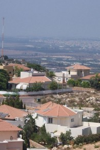 L'implantation d'Alfei Menashe en Cisjordanie (Crédit : Wikimedia Commons/Jonathan Schilling/CC BY-SA 3.0)
