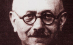 Marc Bloch, historien et résistant né le  6 juillet 1886 à Lyon, fusillé par les nazis le 16 juin 1944. (Crédit : domaine public/Wikimédia Commons)