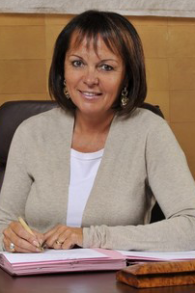 Brigitte Kuster, maire du 17ème et candidate Les Républicains aux législatives, en janvier 2011. (Crédit : François Séjourné/CC BY-SA 3.0/WikiCommons)
