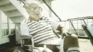 Leon Klinghoffer, 1916-1985 (Capture d'écran : Youtube)