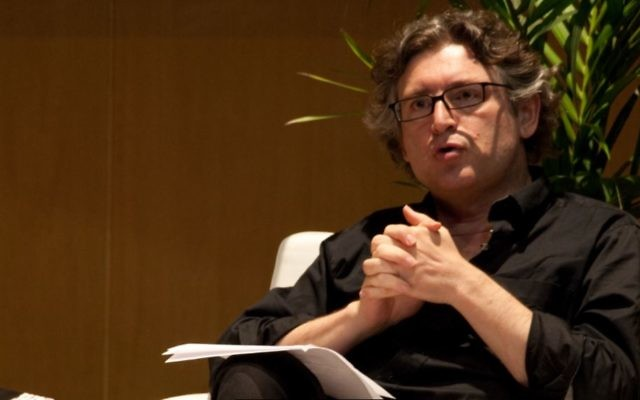 Michel Onfray, en mai 2009. (Crédit : Alexandre López/CC BY 2.0/WikiCommons)