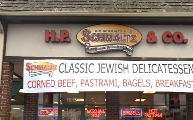 Schmaltz's Delicatessen à Naperville, Illinois, (Crédit : Capture d'écran / YouTube)