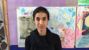 Nadia Murad, survivante yézidie de l'esclavage de l'Etat islamique (Autorisation)