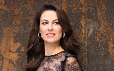 La soprano Chen Reiss, formée en Israël et qui se produit sur les scènes du monde entier, participe au programme de master class de l'Opéra israélien (Autorisation : Chen Reiss)